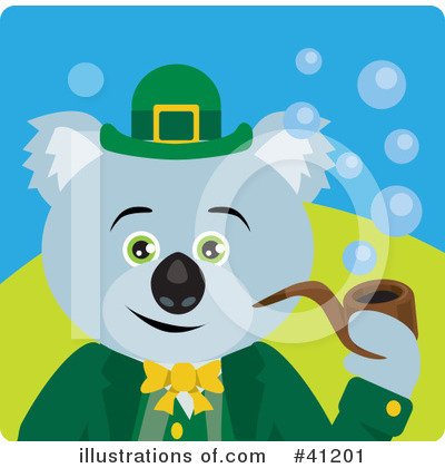 Leprechaun Clipart #41201 by Dennis Holmes Designs