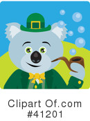 Royalty-Free (RF) Koala Clipart Illustration #41201