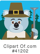 Royalty-Free (RF) Koala Clipart Illustration #41202