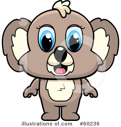 Koala Clipart #60236 by Cory Thoman