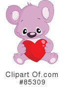 Royalty-Free (RF) Koala Clipart Illustration #85309