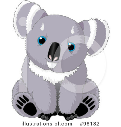 Koala Clipart #96182 by Pushkin