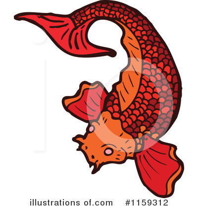 Koi Clipart #1159312 by lineartestpilot