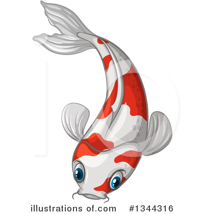 Koi Clipart #1344316 by Graphics RF