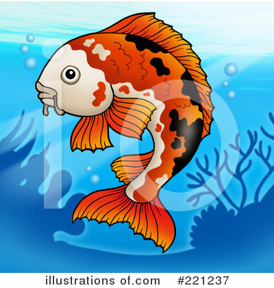 Koi Clipart #221237 by visekart
