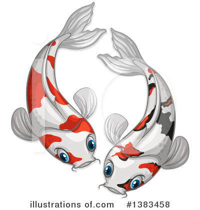 Koi Clipart #1383458 by Graphics RF