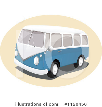 Kombi Clipart #1120456 by Graphics RF