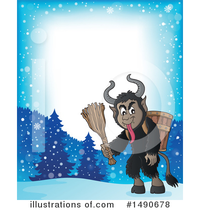 Krampus Clipart #1490678 by visekart