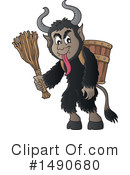 Krampus Clipart #1490680 by visekart