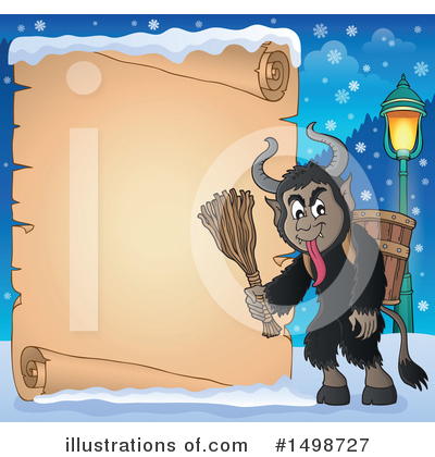 Krampus Clipart #1498727 by visekart