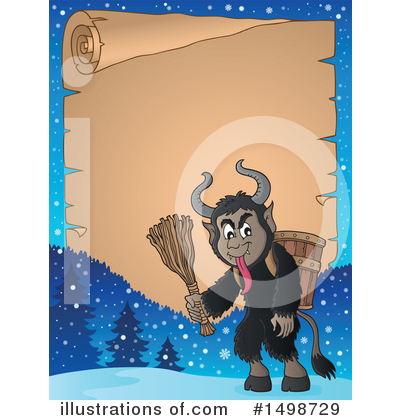 Krampus Clipart #1498729 by visekart