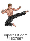 Kung Fu Clipart #1637097 by AtStockIllustration
