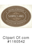 Royalty-Free (RF) Label Clipart Illustration #1160542