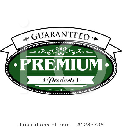 Royalty-Free (RF) Label Clipart Illustration by Vector Tradition SM - Stock Sample #1235735