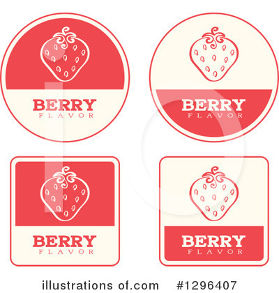 Strawberry Clipart #1296407 by Cory Thoman