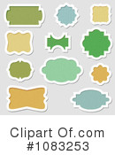Royalty-Free (RF) Labels Clipart Illustration #1083253