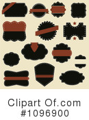 Royalty-Free (RF) Labels Clipart Illustration #1096900