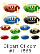 Royalty-Free (RF) Labels Clipart Illustration #1111568