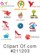 Labels Clipart #211203 by Eugene