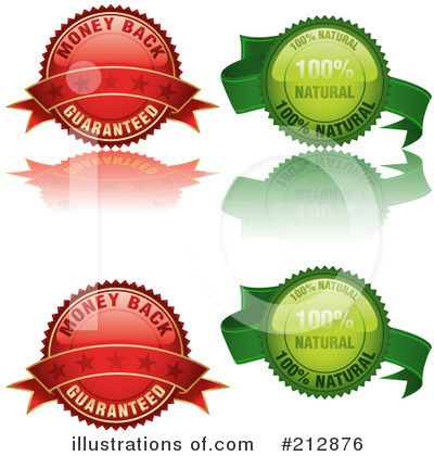 Royalty-Free (RF) Labels Clipart Illustration by dero - Stock Sample #212876
