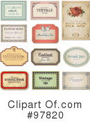 Labels Clipart #97820 by Anja Kaiser