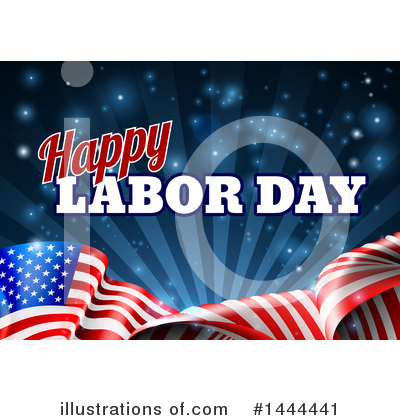 Labor Day Clipart #1444441 by AtStockIllustration