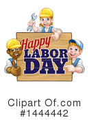 Labor Day Clipart #1444442 by AtStockIllustration