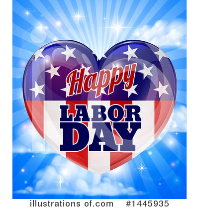 Labor Day Clipart #1445935 by AtStockIllustration