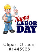 Labor Day Clipart #1445936 by AtStockIllustration
