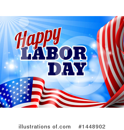 Labor Day Clipart #1448902 by AtStockIllustration