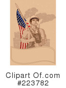Royalty-Free (RF) Labor Day Clipart Illustration #223782
