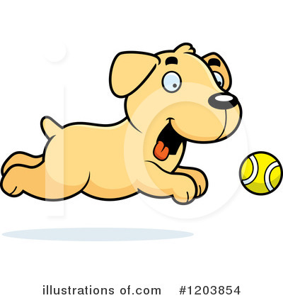 Dog Clipart #1203854 by Cory Thoman