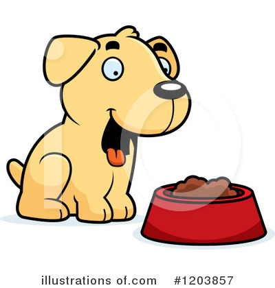 Labrador Clipart #1203857 by Cory Thoman