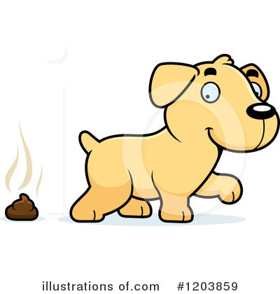 Labrador Clipart #1203859 by Cory Thoman