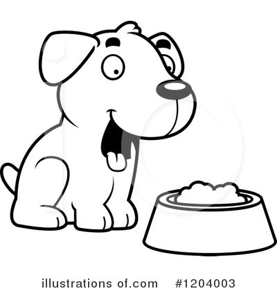 Labrador Clipart #1204003 by Cory Thoman