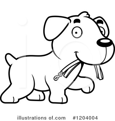 Labrador Clipart #1204004 by Cory Thoman