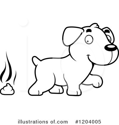 Labrador Clipart #1204005 by Cory Thoman