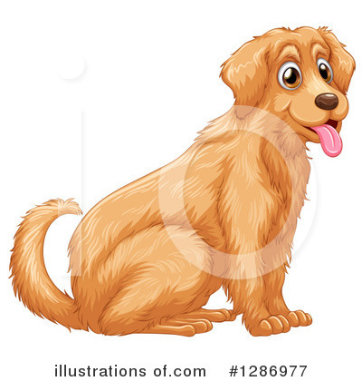 Labrador Clipart #1286977 by Graphics RF