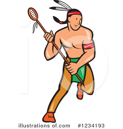 Native American Clipart #1234193 by patrimonio