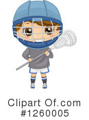 Royalty-Free (RF) Lacrosse Clipart Illustration #1260005