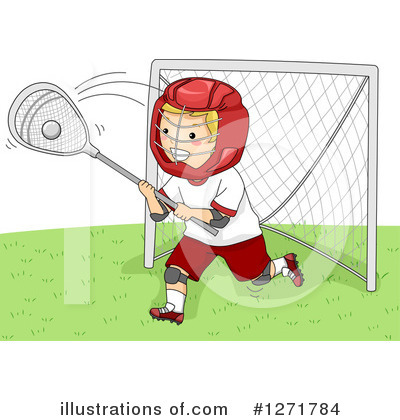 Lacrosse Clipart #1271784 by BNP Design Studio