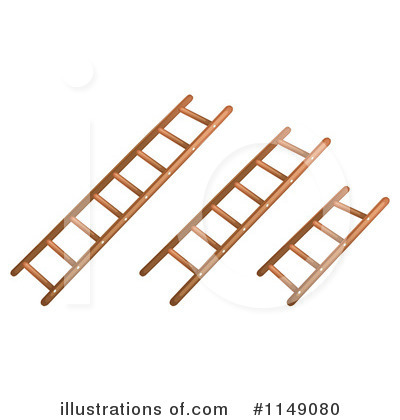 Ladder Clipart #1149080 by Graphics RF