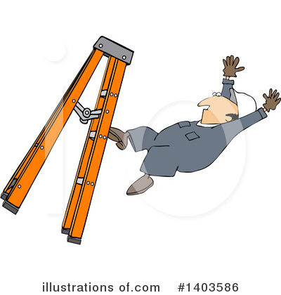 Accident Clipart #1403586 by djart