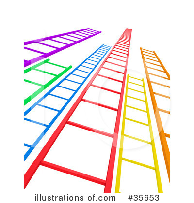 Royalty-Free (RF) Ladder Clipart Illustration by Tonis Pan - Stock Sample #35653