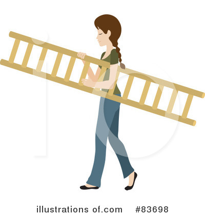 Ladder Clipart #83698 by Rosie Piter