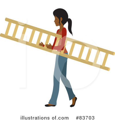 Ladder Clipart #83703 by Rosie Piter