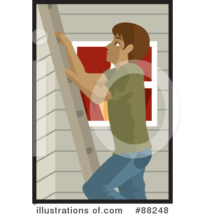 Ladder Clipart #88248 by Rosie Piter