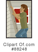 Royalty-Free (RF) ladder Clipart Illustration #88248