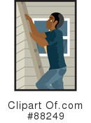 Royalty-Free (RF) ladder Clipart Illustration #88249