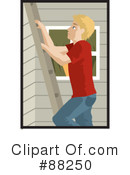 Royalty-Free (RF) ladder Clipart Illustration #88250